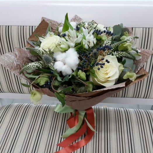 Снежное утро: букеты цветов на заказ Flowwow
