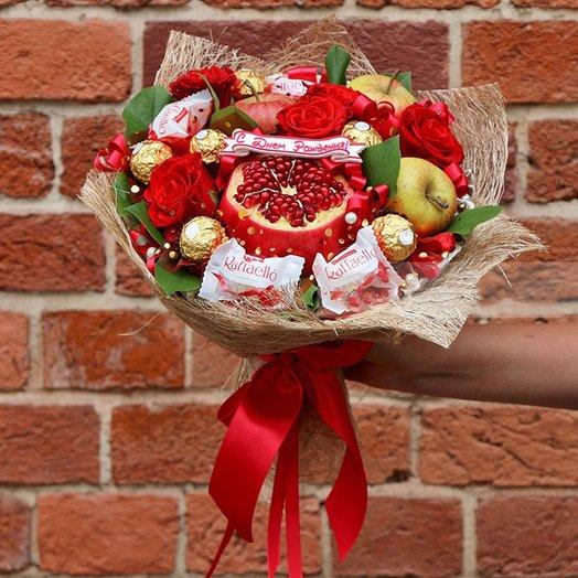 Гранат: букеты цветов на заказ Flowwow