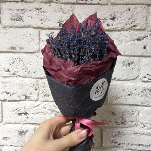 Букетик ароматной лаванды: букеты цветов на заказ Flowwow