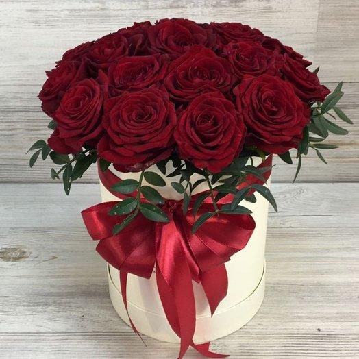 Коробки с цветами. Розы. N37