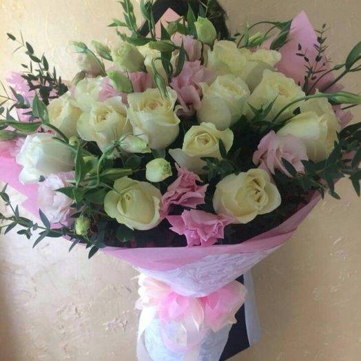 Белая река: букеты цветов на заказ Flowwow