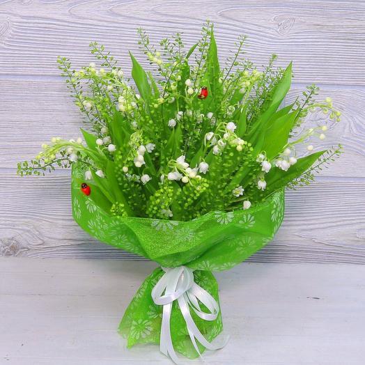 Букет ландышей: букеты цветов на заказ Flowwow