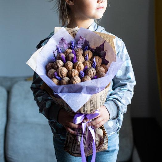 """""""Орешек знаний"""" в чернильном"""": букеты цветов на заказ Flowwow"""