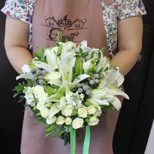 Свадебный букет 19