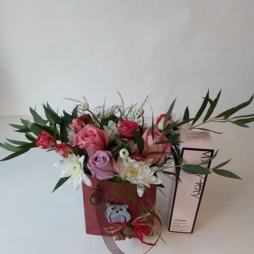 Пакетик с красотой: букеты цветов на заказ Flowwow