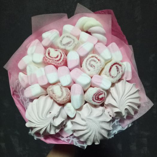 Нежный сладкий букет: букеты цветов на заказ Flowwow