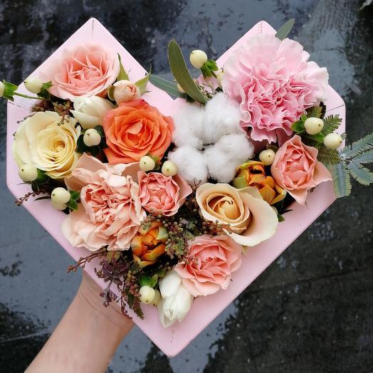 Сердце Афины: букеты цветов на заказ Flowwow