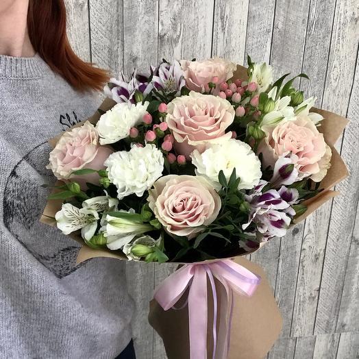 Моя нежность - сборный букет: букеты цветов на заказ Flowwow