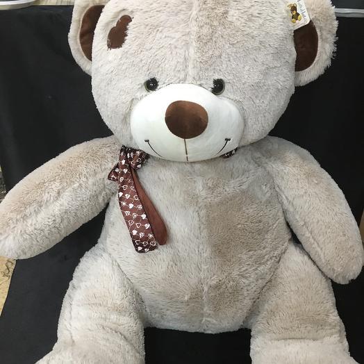"""Плюшевый медведь """"Тони"""": букеты цветов на заказ Flowwow"""
