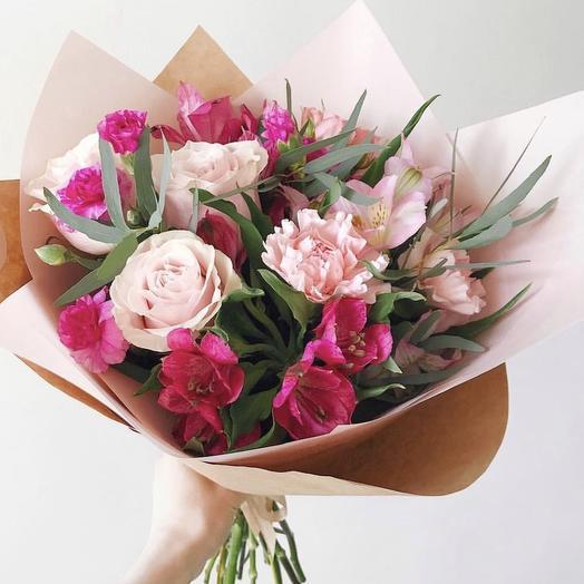 Букет 213: букеты цветов на заказ Flowwow