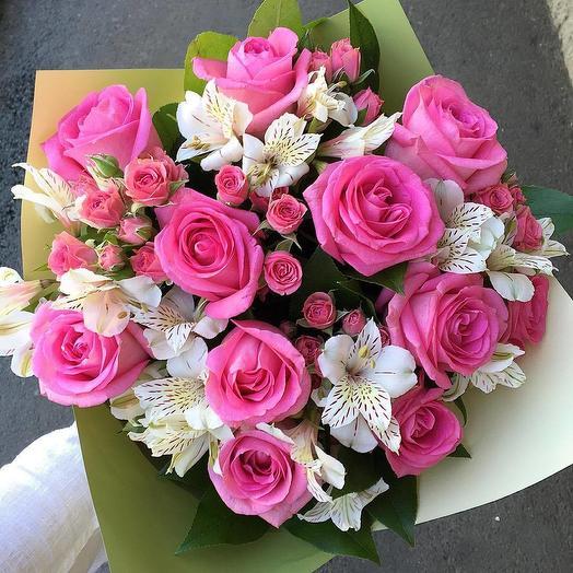 """Букет """"Розовое облако"""": букеты цветов на заказ Flowwow"""