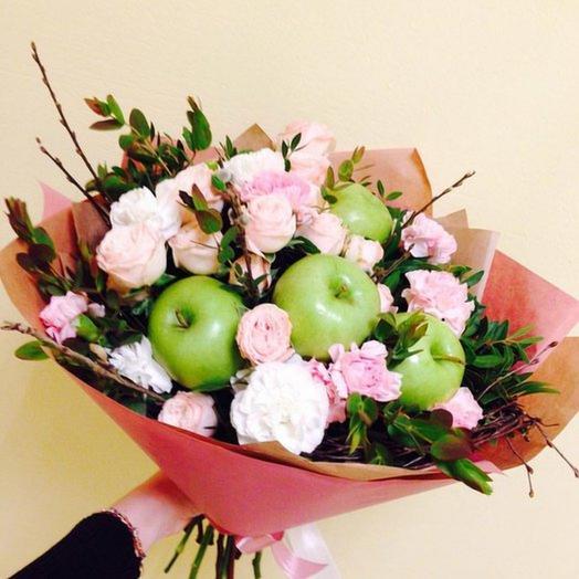 Яблочное настроение: букеты цветов на заказ Flowwow