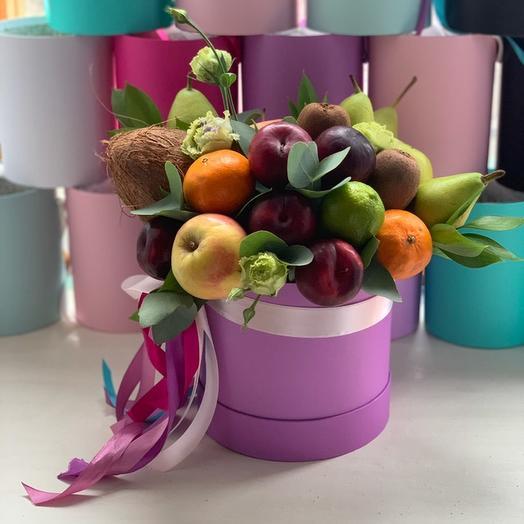 Коробочка «С любовью от Робинзона»: букеты цветов на заказ Flowwow