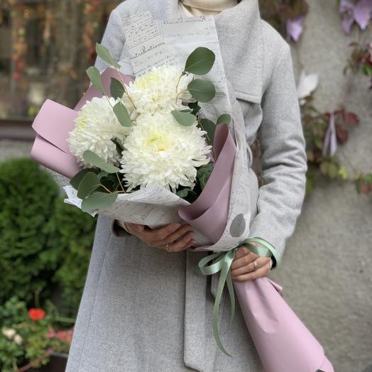 Хризантема Магнум: букеты цветов на заказ Flowwow
