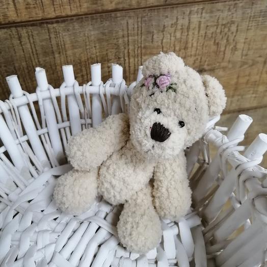 Игрушка ручной работы Мишка: букеты цветов на заказ Flowwow