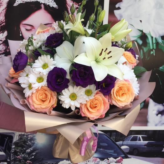 Букет «Объятия»: букеты цветов на заказ Flowwow
