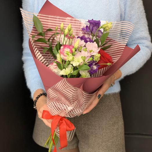 Букет-комплимент «Бэлла»: букеты цветов на заказ Flowwow