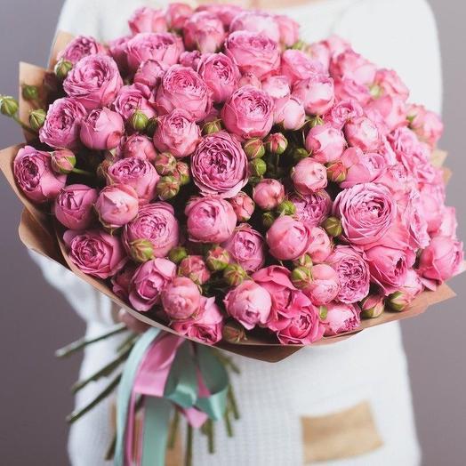 Пионовидное чудо: букеты цветов на заказ Flowwow