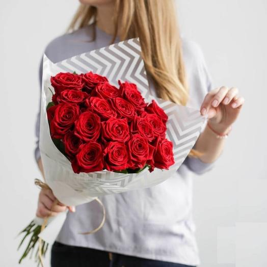 Букет 15 роз Экспловер