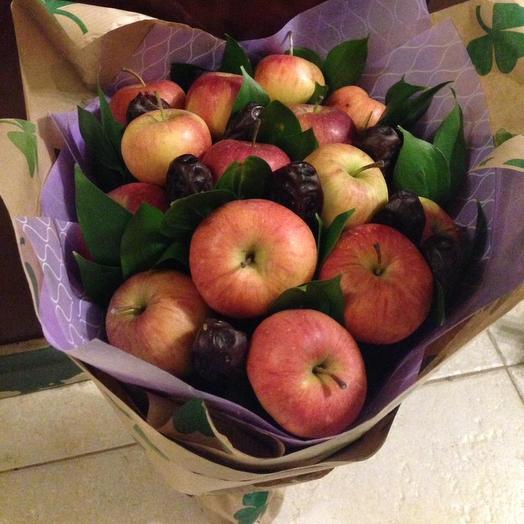 Яблочный день: букеты цветов на заказ Flowwow