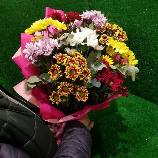 "Букет "" Вальс хризантем"": букеты цветов на заказ Flowwow"