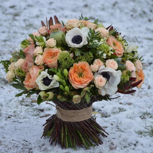 "Букет ""Загадочная история"": букеты цветов на заказ Flowwow"