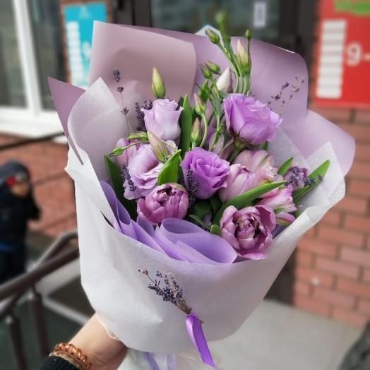 Лавандовый рай💜: букеты цветов на заказ Flowwow