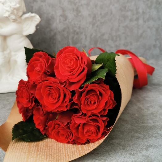 Алая мечта: букеты цветов на заказ Flowwow