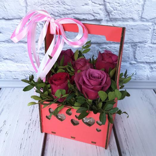 Композиция «Carina»: букеты цветов на заказ Flowwow