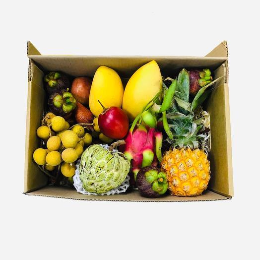 Экзотические фрукты в коробке XL