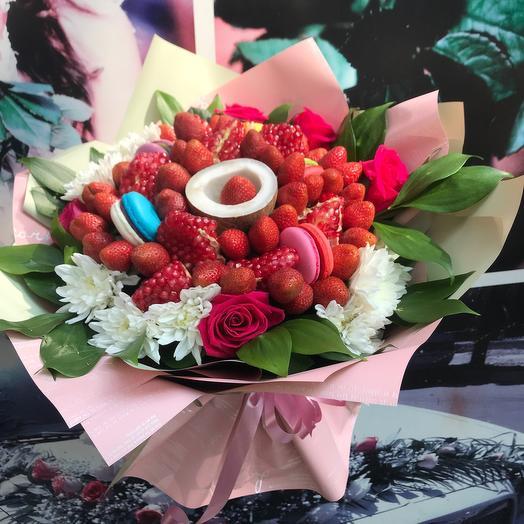 Сладко цветочный букетик