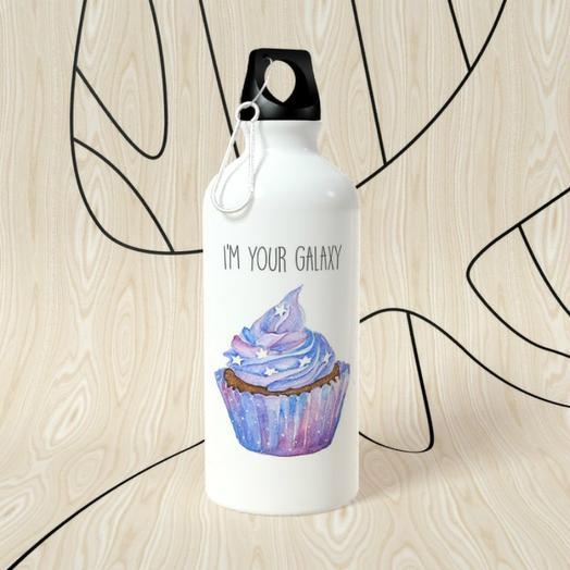 Бутылка для воды One Love, I m your galaxy
