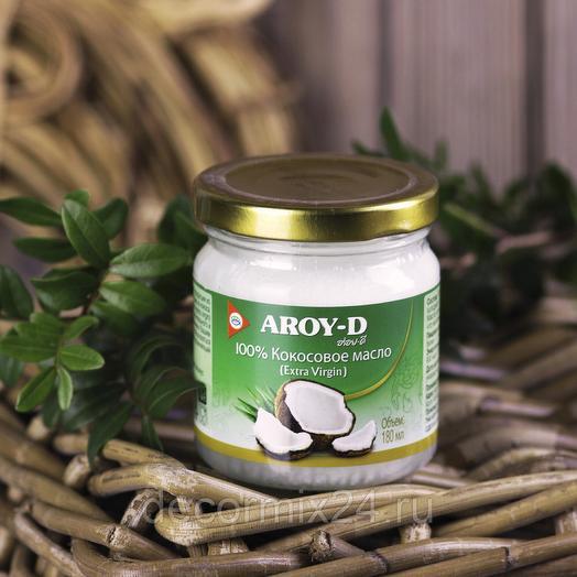 Масло Кокосовое Aroy-D 180 ml