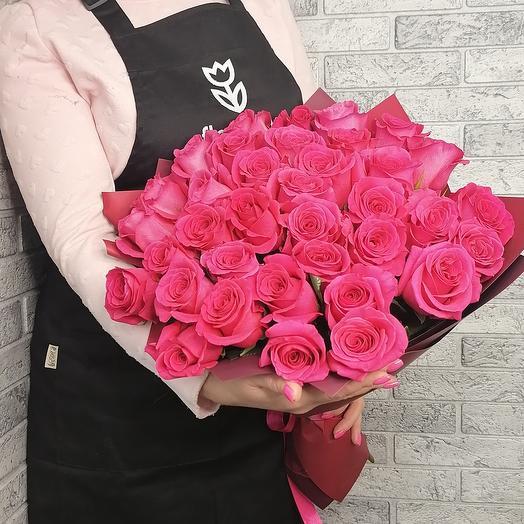25 VIP Premium Колумбийской розы