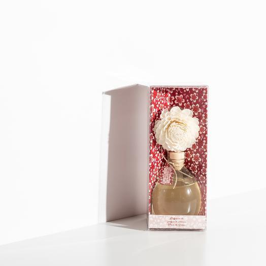 Диффузор Fleur de Coton (Цветы Хлопка и Маракуйя) с цветком, 150 мл