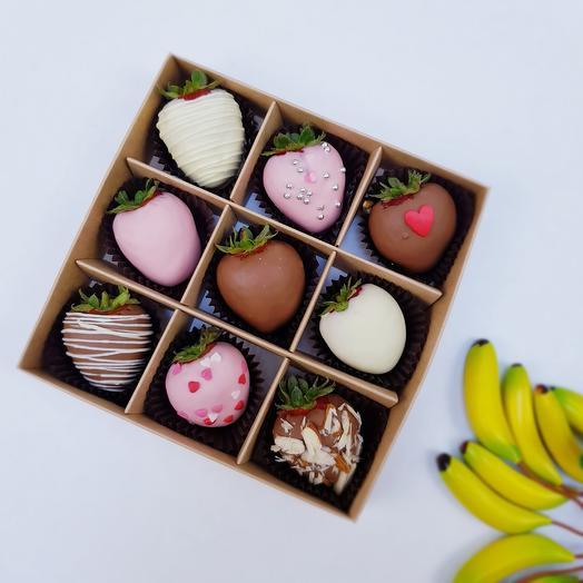 Клубника в шоколаде 17