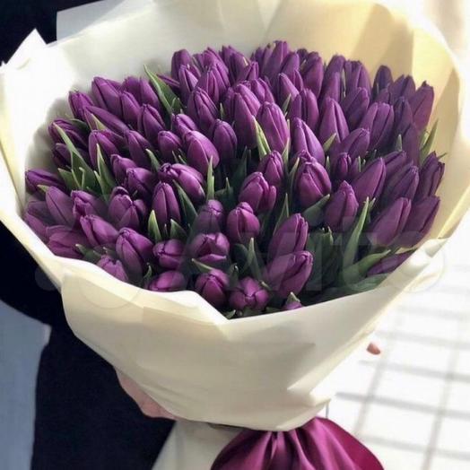 Букет Тюльпаны 101