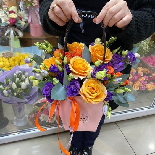 Сумочка с яркими Розами