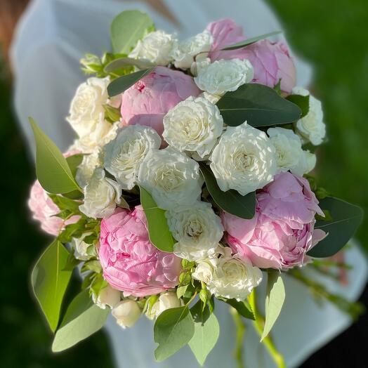 Свадебный букет «Ты мой воздух»