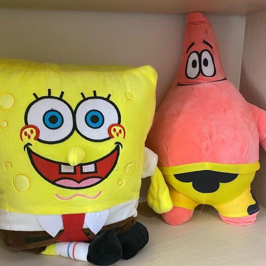 Веселые друзья Губка Боб и Патрик