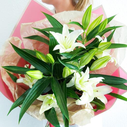 Bouquet of Lilies 3 pcs