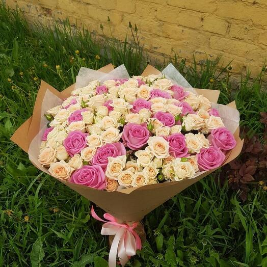 Букет из 41 розы