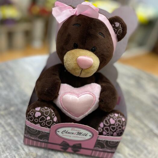 Мягкая игрушка «Milk с сердцем», 20 см