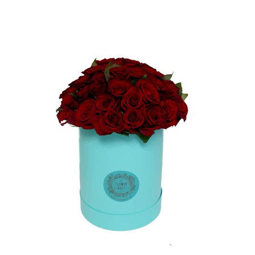 Средний бокс MINT: букеты цветов на заказ Flowwow