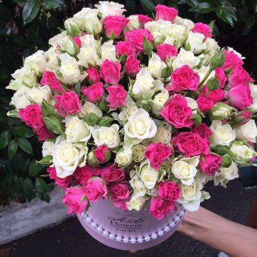 Композиция Розовая симфония: букеты цветов на заказ Flowwow