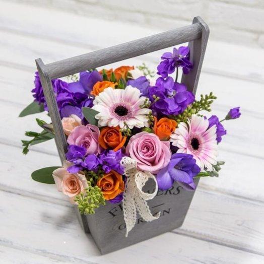 Букет № 65 Клинти: букеты цветов на заказ Flowwow