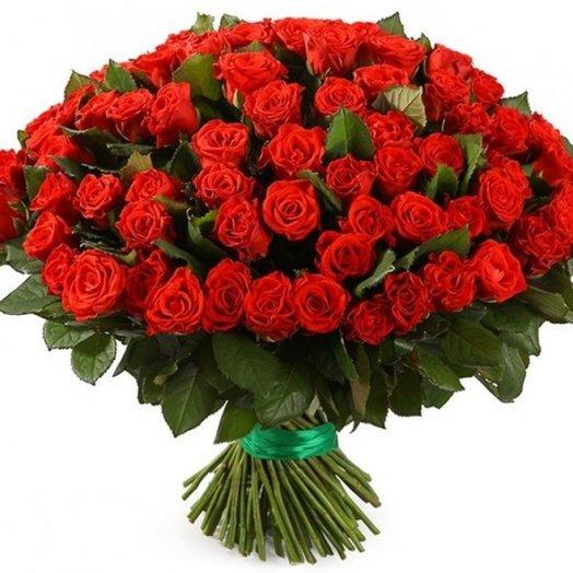 101 роза Эль Торро 40 см