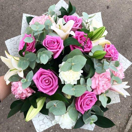 Букет Скрипичный дуэт: букеты цветов на заказ Flowwow