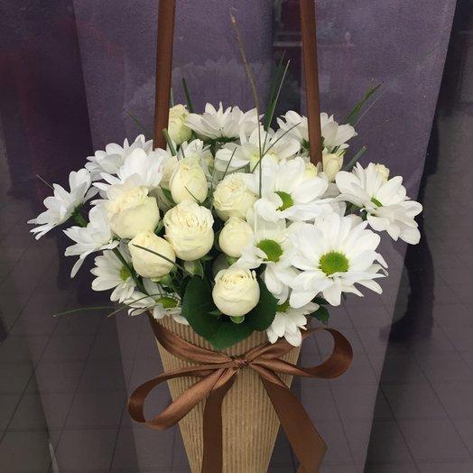 Букет белый: букеты цветов на заказ Flowwow