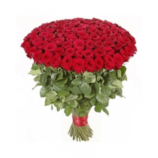 101 роза. Букет большая любовь: букеты цветов на заказ Flowwow